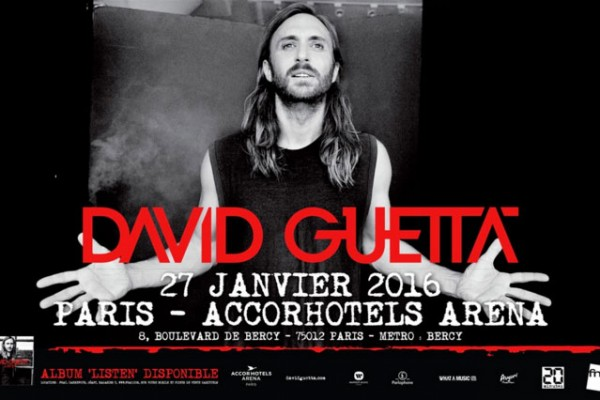 concert David Guetta Accorhotels Arena