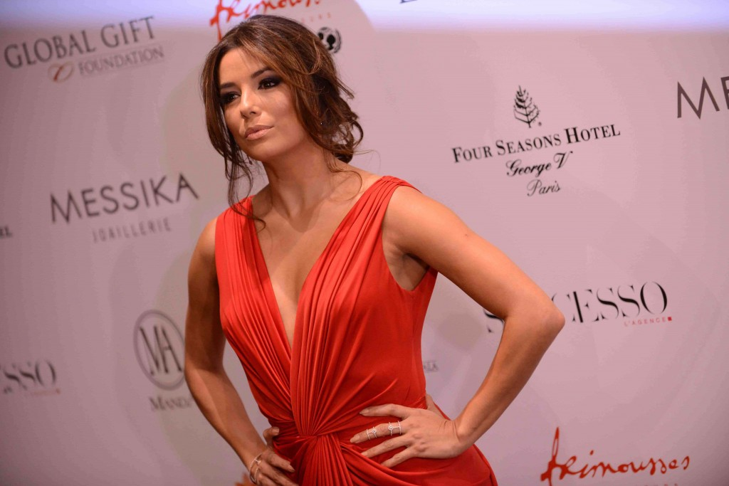 Eva Longoria Global Gift Gala 9 mai Paris