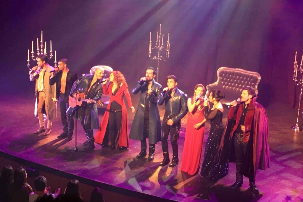 3-Mousquetaires showcase spectacle musical