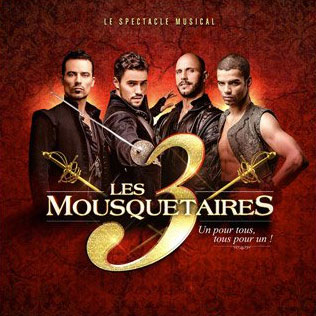 3-Mousquetaires showcase spectacle musical pochette-album