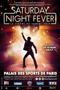 saturday night fever spectacle musical Fauve Hautot showcase affiche